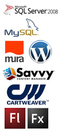 ColdFusion Hosting logos